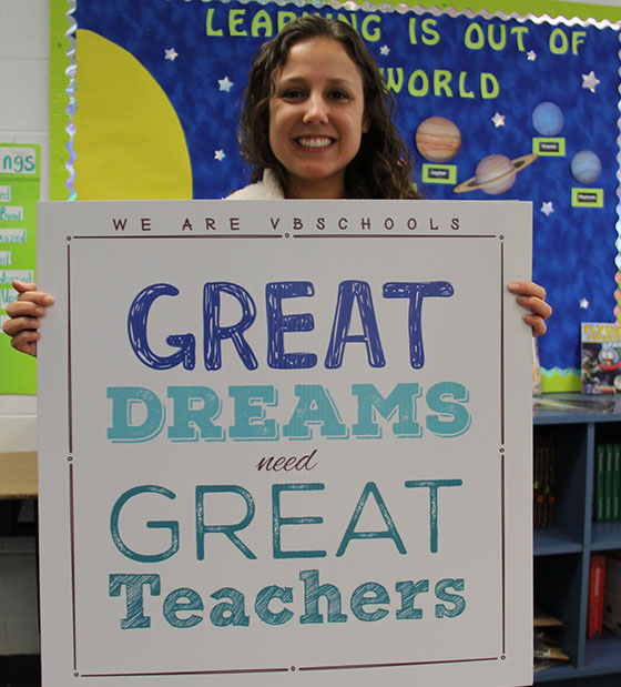 We Are Vbschools - Great Dreams need Great Teachers